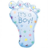 Beysüs Supershape Folyo It İs A Boy Foot Balon
