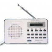 Everton Rt 590 Küçük Şarjlı Dijital Radyo Mp3 Çalar Usb Sd