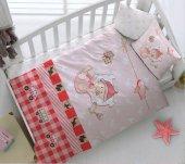 Kristal Bebek Uyku Seti Hug Me Kırmızı