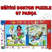 Eğitici Oyuncak 67 Parça Dişci Doktor Yapboz Puzzle Oyuncak Seti