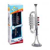 Trompet 4 Tuşlu Gümüş Kutulu Bj 23s00003831