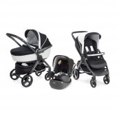 Chicco Trio Stylego W Kit Car Trio Travel Sistem Bebek Arabası Black Nigth