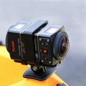 Kodak Kodak Pixpro 4k Full Hd 3x Optik Zoom Dual Pro Pack Sp360 Dpp