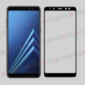 Samsung Galaxy A8 2018 3d Komple Full Kapatan Cam Ekran Koruyucu