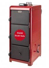 Daiwa Dy 40 Katı Yakıtlı Kalorifer Kazanı (Dahili Sıcak Sulu)