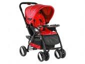 Babyhope Bh 3088 Neon Çift Yönlü Puset Kırmızı Siyah