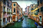 Venedik Duvar Posteri 3.68 M X 2.54 M