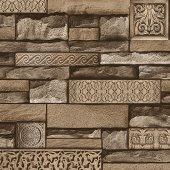 105 C Harmony Taş Desen Duvar Kağıdı