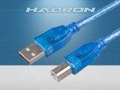 Hadron Hd4080 250 Prınter Kablosu Transparent 3m
