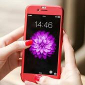 Iphone 7 Plus 360 Derece Kılıf Full Koruma + Kırılmaz Camlı