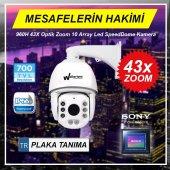Walkertone Sony Lens 43x Analog Speed Dome 100m Kablo Hediye