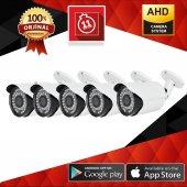 Ahd Kamera 720p 36 Ir Led 5 Adet 3.6 Mm Lens Şok Fiyat