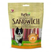 Reflex Sandwich Tavuk Ve Marina Balıklı Köpek Ödülü 80 Gr