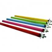 Ti Sert Renkli Tahta Tünek Vidalı (25x1 Cm) 1 Adet