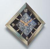 Regal 1365 Gb Sarı Baklava Duvar Saatı
