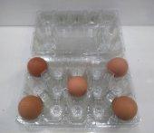Yumurta Viyolü Plastik Şeffaf 15&#039 Li (200 Adet)