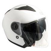 Açık Motosiklet Kaskı Cgm 130a Oslo Beyaz Renk