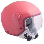 Açık Çocuk Motosiklet Kaskı Cgm 205s Goodevil Pembe Renk