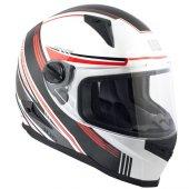 Kapalı Motosiklet Kaskı Cgm 305g Stoccarda Kırmızı Renk