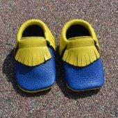 Klasik Makosen Bebek Ayakkabı Kanarya Cv 94