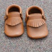 Klasik Makosen Bebek Ayakkabı Taba Cv 310