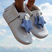 Yıldız Makosen Bebek Ayakkabı Beyaz Cv 329