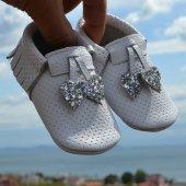 Kalpli Makosen Bebek Ayakkabı Beyaz Cv 334