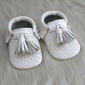 Corcik Makosen Bebek Ayakkabı Bej Cv 165
