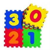 Eva Mat Rakamlar Temalı Puzzle Akar Oyuncak