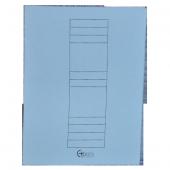 Bafix Karton Dosya Tam Kapak Mavi 66716 50 Li (1 Paket 50 Adet)
