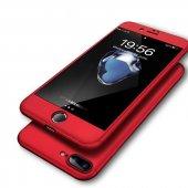Apple İphone 8 Plus Fit 360 �derece Tam Koruma Kılıf + Kırılmaz Ca