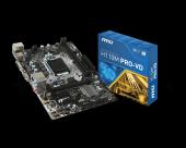 Msı H110m Pro Vd Intel H110 2133mhz Ddr4 Soket 1151 Matx Anakart