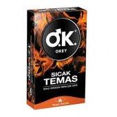 Okey Sıcak Temas 10lu Prezervatif
