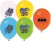 Batman Bask L Lisansl 50 Adet Balon