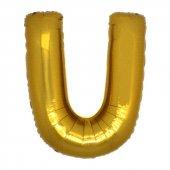 Harf Folyo Balon U Harfi B Y K Boy Balon Alt N100cm