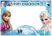 Elsa Frozen Karlar Ülkesi Ice Skating Resim Çerçevesi