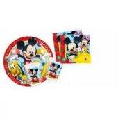 Mickey Mouse Parti Seti 16 Kişilik Ücretsiz Kargo