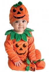 Halloween Bebek Bal Kabağı Kostümü
