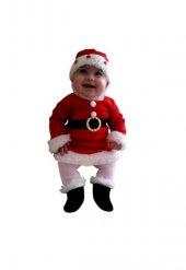 Noel Kız Bebek Polar Kostüm