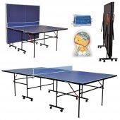 Dynamic Sport İndoor Masa Tenisi Masası Ağdemir Set Ve 2 Raket 3 Top Hediyeli Kolay Kurulum