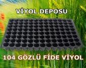 104 Gözlü Fide Viyolü (100 Adet) Tohum Çimlendirme Viyolü