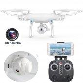 Lh X25 Wifi Kameralı Drone Quadcopter Hareketli Kamera