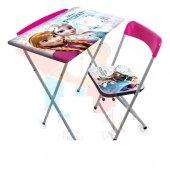Frozen Masa Sandalye Seti Karlar Ülkesı Masa Sandalye
