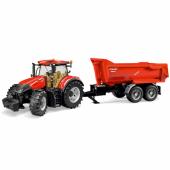 Bruder Case Ih Optum 300 Cvx Traktör Ve Römork 03199