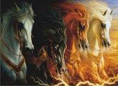 Anatolian 2000 Parça Puzzle Mahşerin Dört Atlısı