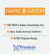 1 Aylık Rapidgator Premium Üyelik