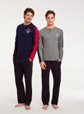 U.s Polo Assn. 17523 Erkek Parlı Pijama Takımı