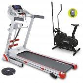 Dynamic Fluencem Plus Motorlu Masajlı Koşu Bandı Twister Ve R102n Eliptik Bisiklet Hediyeli