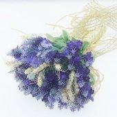 Lavanta Ve Başaklı Gelin El Buketi Çiçeği