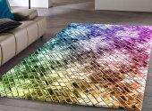 Rugrita Renkli Kristaller Dijital Baskı Kaydırmaz ...